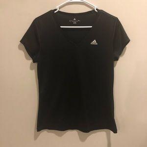 Adidas Climalite shirt top black lightweight